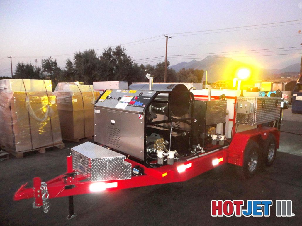 Trailer Jetters For Sale Dual Engine Hot And Cold Water